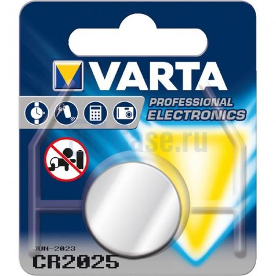 VARTA Batterien Professional Electronics 2025