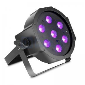 Cameo FLAT PAR CAN 7X3W UV IR_0