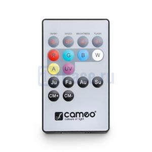 Cameo FLAT PAR CAN 7X3W UV WH_5