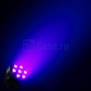 Cameo FLAT PAR CAN 7X3W UV WH_6