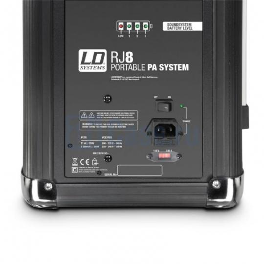 LD Systems Roadjack 8